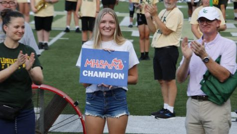 Gymnastics and Tennis title winners recognized for efforts